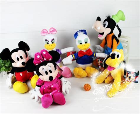 Mickey Minnie Lilo Piglet Pooh Chip 6 Pcs Figure Set Disney buy 3d minnie mickey mouse donald duck winnie pooh chip piglet pig phone bag silicon cover