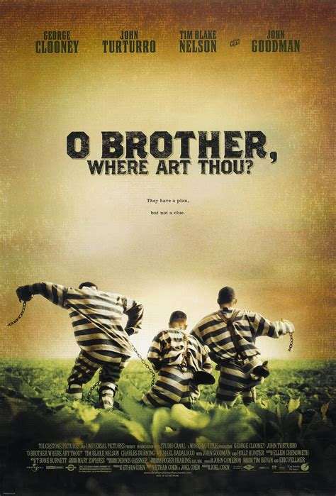 O Brother, Where Art Thou? (#1 of 2): Extra Large Movie ... O Brother, Where Art Thou Movie Poster