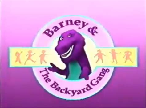 barney and friends backyard gang 2028 best memories images on pinterest