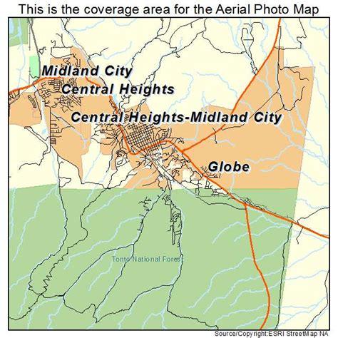 globe az maps aerial photography map of globe az arizona