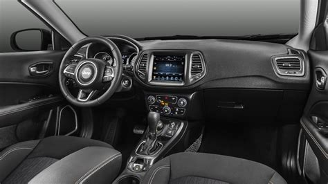 jeep compass interior 2017 jeep compass launched price variants interior
