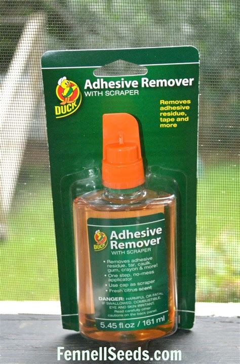 How To Remove Sticker Adhesive