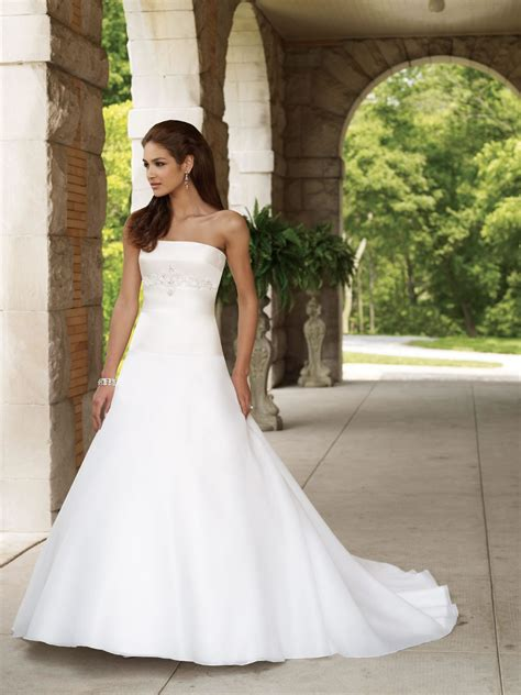 a line wedding dresses strapless rp dress