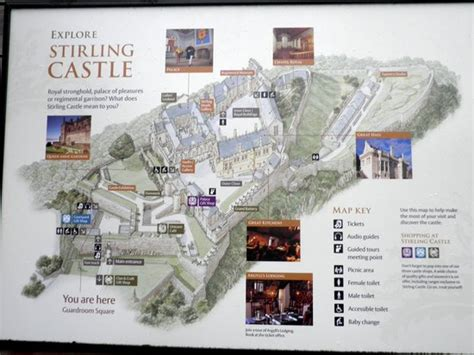 Example Of A Floor Plan by Location Map Of Stirling Castle Picture Of Stirling