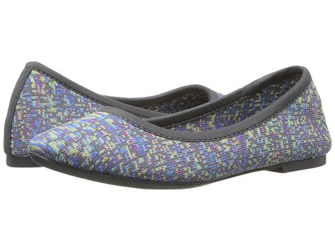 Skechers Knit Flats by Skechers Cleo Engineered Knit Skimmer At Zappos