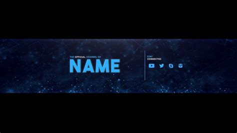 youtube banner template photoshop cc free download simple 2d