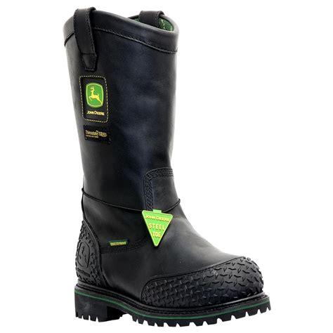 s deere boots s deere 174 12 quot pull on miner s boot 165395