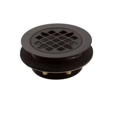 kohler 2 in brass round shower drain in oil rubbed bronze k 9132 2bz the home depot