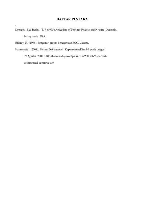 makalah rancangan format pendokumentasian makalah metodologi keperawatan