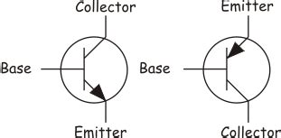 transistor symbol for pnp choosing a suitable pnp or npn transistor switch eeweb community