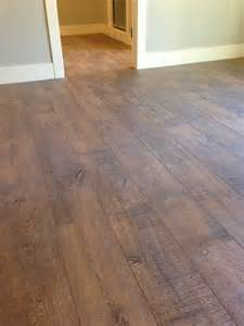 this floor is a cottage style rustic laminate toms
