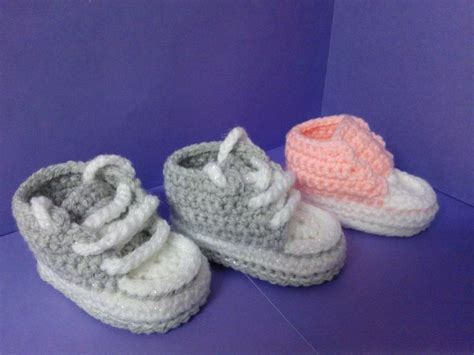 crochet converse slippers pattern free how to crochet my easy new born baby converse style