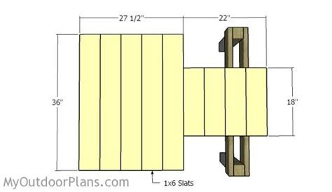 shooting bench dimensions free wooden shooting bench plans quick woodworking projects