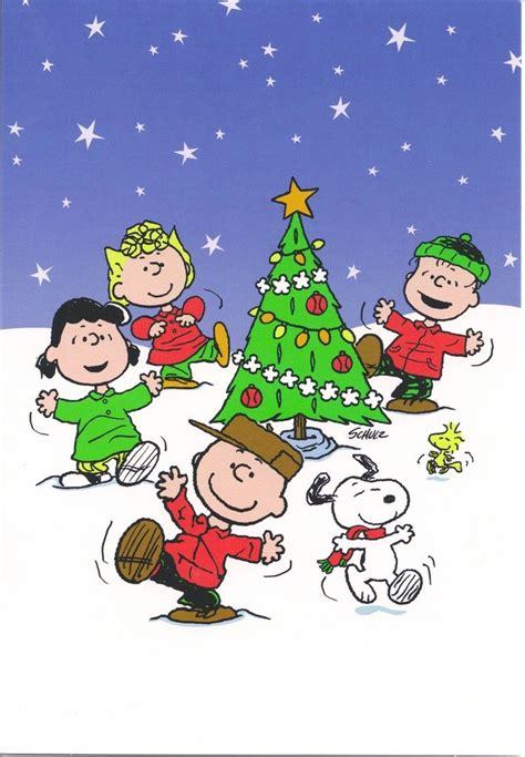 peanuts animated christmas images a great with your clan you all peanuts