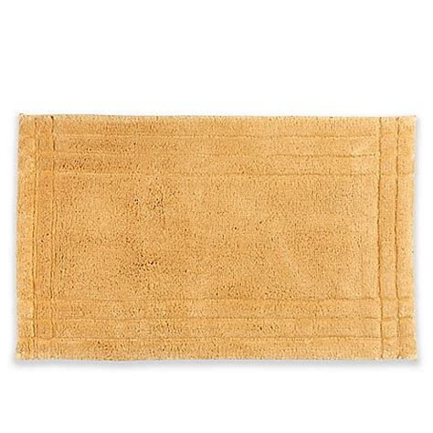 24 inch rug buy lifestyle ultra soft cotton 17 inch x 24 inch bath rug in gold from bed bath beyond