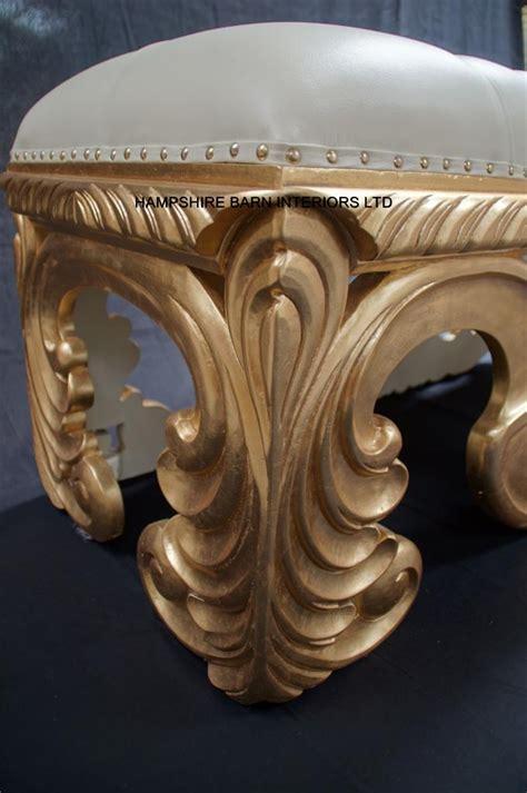 neo ottoman order designers neo large rococo ottoman stool bench seat