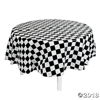 black white table cloth black white checkered tablecloth