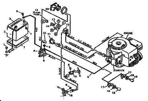 wonderful wiring diagram for a craftsman mower