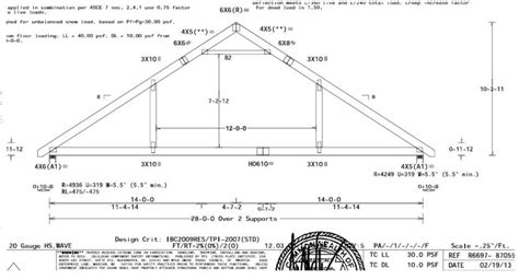 garage roof truss design garages built