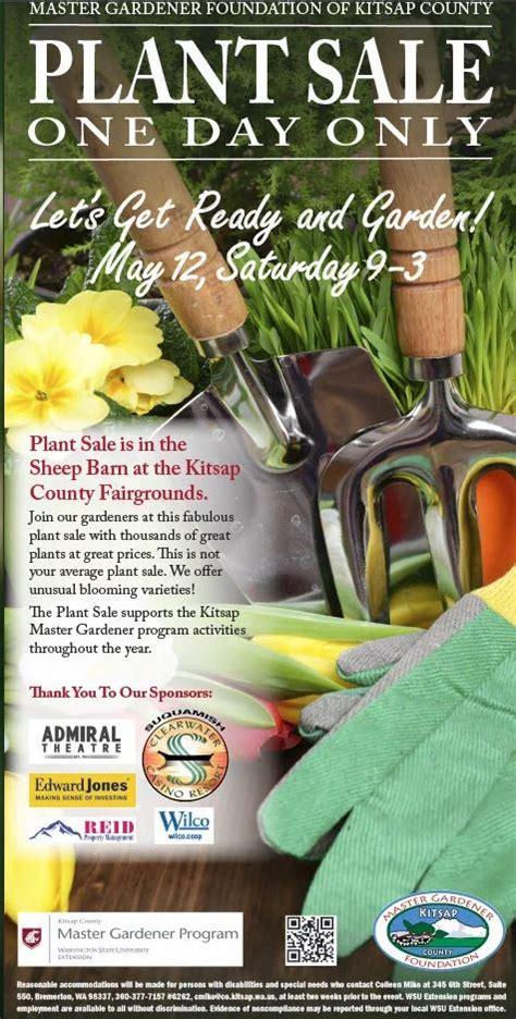 mgfkc annual plant sale kitsap county washington state