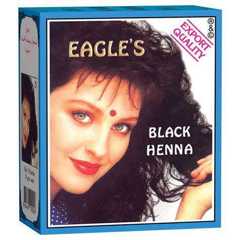 Henna Eagles Black eagles black henna hair dyes 10gr box gogobli
