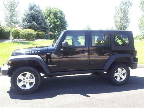 2007 Jeep Rubicon 4 Door For Sale by Sell Used 2007 Jeep Wrangler Unlimited Rubicon Sport