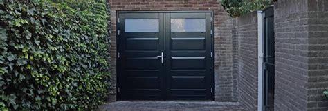 Houten Openslaande Garagedeuren by Tuindeuren Opmaat Nl Openslaande Houten Tuindeuren