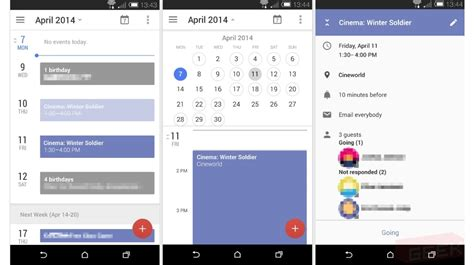 calendar for android is testing new ui and features for calendar