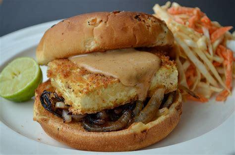 tofu burger recipe dishmaps