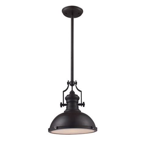 Bronze Pendant Lights For Kitchen Portfolio 13 In W Bronze Pendant Light Pn0105