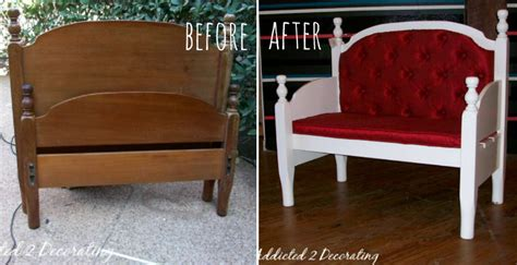 Bench From Headboard And Footboard by How To Make Headboard And Footboard Bench Diy Crafts