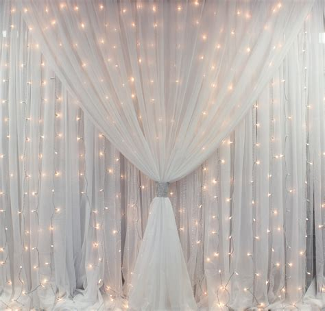 sheer draping fabric backdrop draping