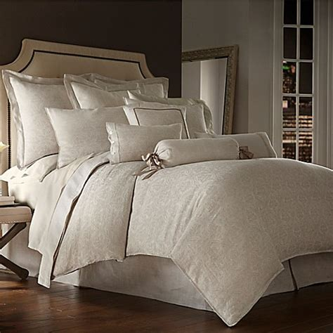 Bedcover 180160 Italy waterford couture 174 luxury italian made cotton lino duvet cover in bed bath beyond