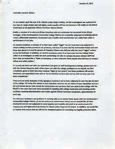 sle letter of complaint to employer on unfair office