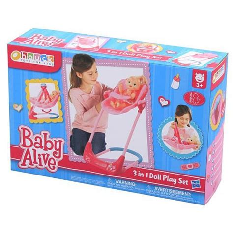 baby alive high chair swing baby alive swing high chair and car seat 3 in 1 combo