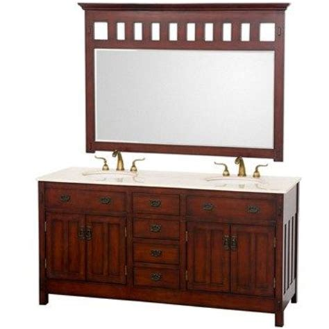 craftsman style bathroom mirrors harrison 66 craftsman style vanity what if there was a