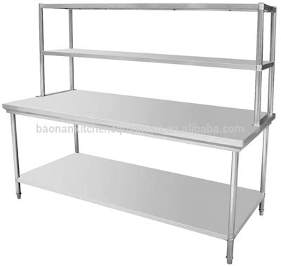 Commercially Available The Shelf by Stainless Steel Prep Station Table Commercial Kitchen