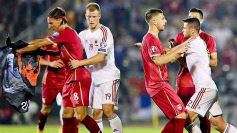 Xhaka Adler Uefa To Investigate Serbia Albania Abandonment The