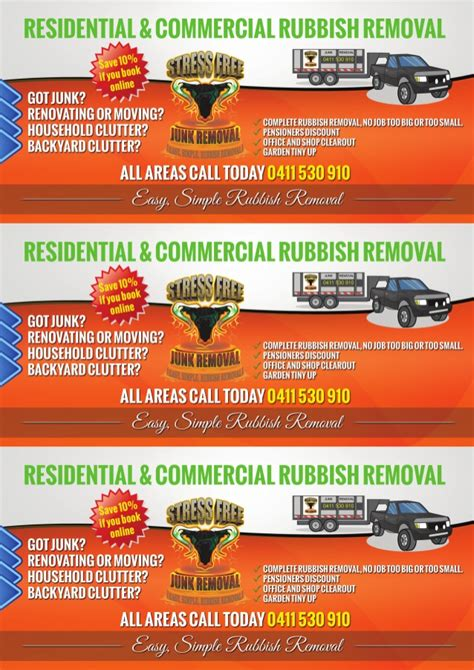 Junk Removal Flyers Gallery Junk Removal Flyer Template