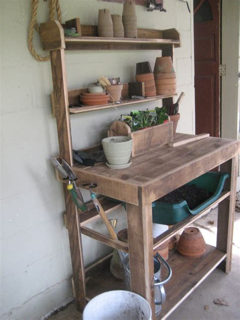build potting bench ana white potting bench diy projects