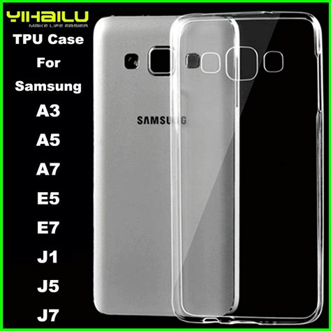 Softcase Ultratin Samsung E5 Softcase Transparan Limited transparent clear ultra thin soft tpu plastic phone