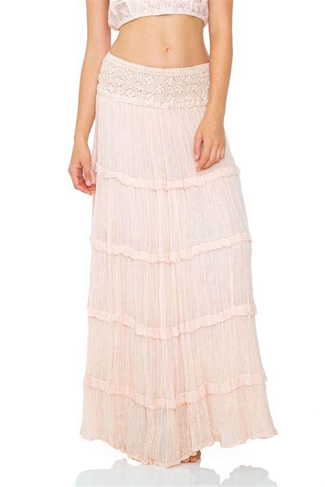 jen s pirate circle maxi skirt in summer quartz