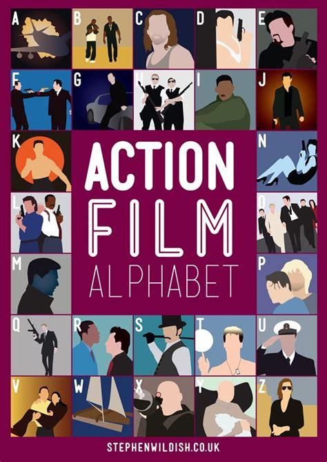 love film quiz the action film alphabet poster will quiz your action film