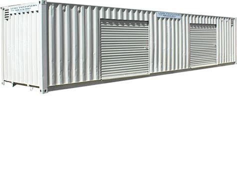 roll storage containers for sale 40 foot with 2 roll up doors storage shipping containers