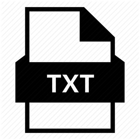 Data file, document, extension, file format, text, text ... .txt
