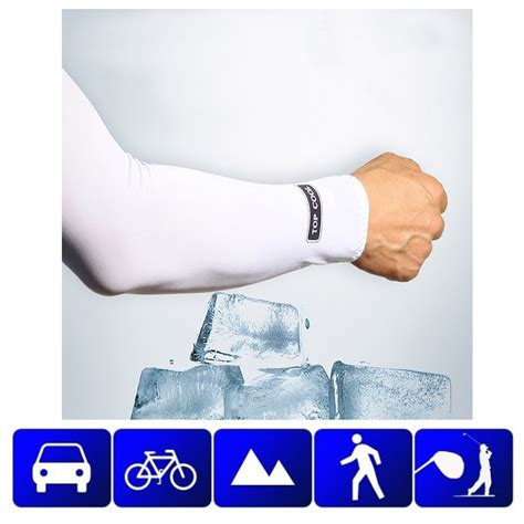 Ready Stockmurmer Hi Cool Arm Uv Protection Cover Kaos Sarung Tanga sport skin arm sleeve cooling uv cover sun protective stretch armband basketball ebay