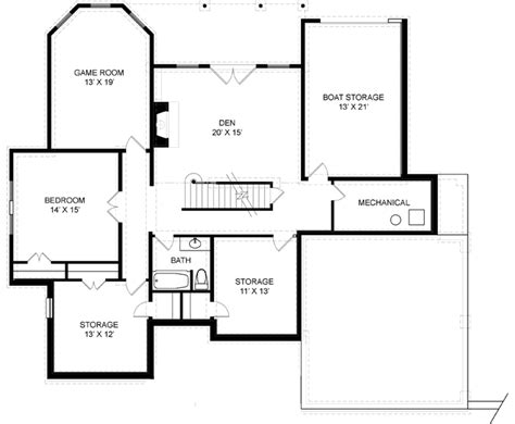 Hatfield House Floor Plan Hatfield Place 7974 4 Bedrooms And 2 Baths The House Designers