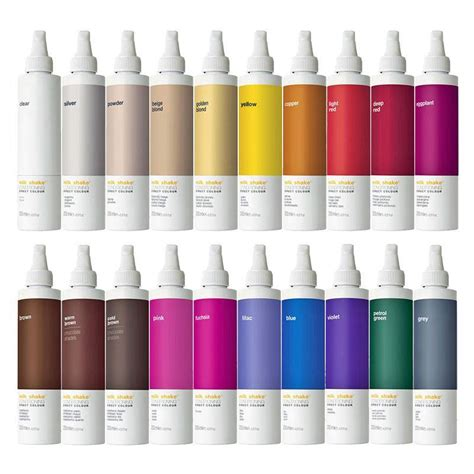 direct colors milk shake direct color provides the coloring power of