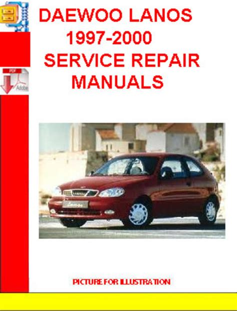 free auto repair manuals 2001 daewoo nubira user handbook daewoo lanos 1997 2000 service repair manuals download manuals