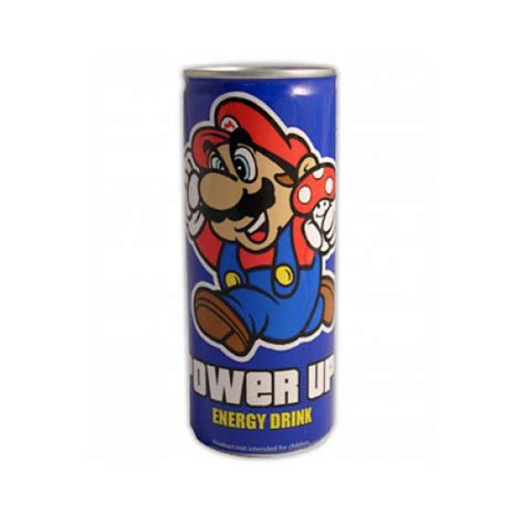 1 up energy drink nintendo mario power up energy drink 250ml 7414